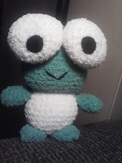 Free Super Mario Amigurumi Patterns : Ravelry: Crocheted Keroppi Lookalike Amigurumi pattern by ...