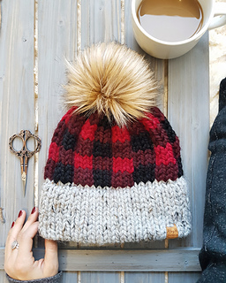 Ravelry  True North Toque pattern by Made by Marlee 4063f4f5e73
