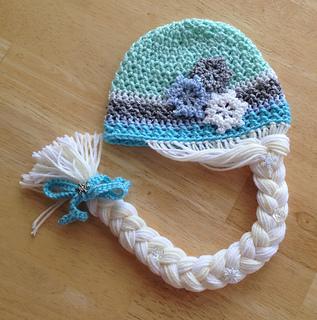 Ravelry  Elsa ~ Frozen Inspired Crochet Hat Pattern pattern by Megan ... 6d36888419b