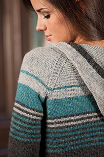 Hollywell Cardigan pattern by Megan Goodacre