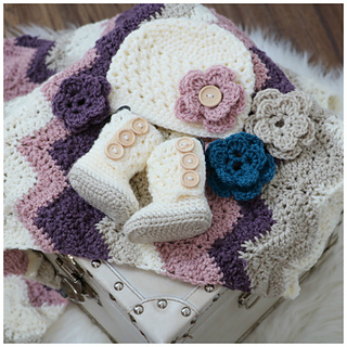 Ravelry Dusty Rose Baby Set Pattern By Mjs Off The Hook Designs