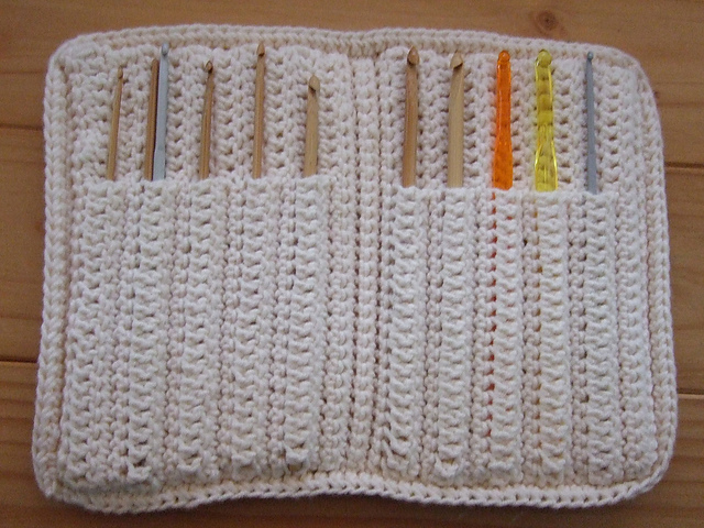 Ravelry Aluminum Crochet Hook Case Pattern By Priscilla Hewitt
