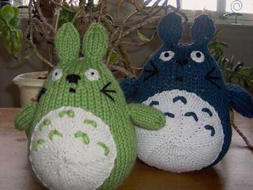 Ravelry Totoro Pattern By Mimouna Andersen