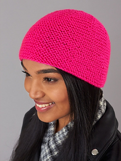 Ravelry  Simply Garter Stitch Hat pattern by Caron Design Team e5df569ee74
