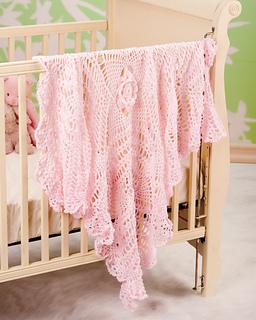 Ravelry heirloom baby blanket pattern by joyce nordstrom dt1010fo