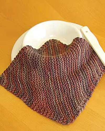 Ravelry Corner To Corner Dishcloth Pattern By Lily Sugarn Cream