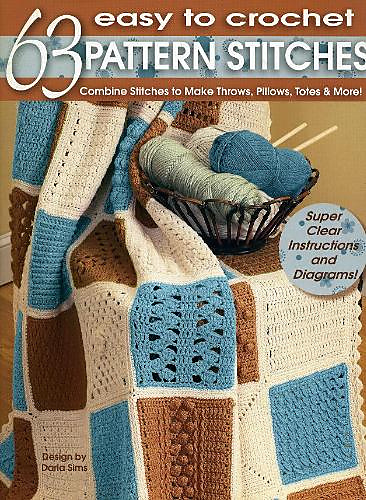 Ravelry Leisure Arts 3916 63 Easy To Crochet Pattern Stitches To