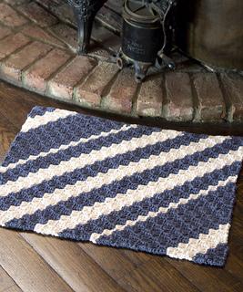 Ravelry Diagonal Rug Pattern By Kathy Wigington