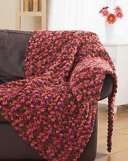 Ravelry Chunky Crochet Blanket 3824 Archive Pattern By