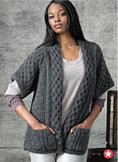 Ravelry: #03 Short Sleeve Cardigan pattern by Lutz & Patmos