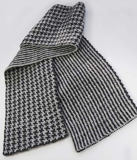Ravelry: Man's Double Knit Scarf pattern by Melissa Leapman