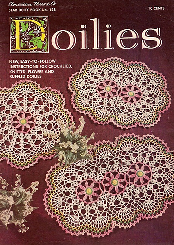 Ravelry Star Book No 128 Doilies Patterns