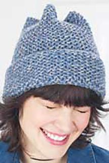 91958c10e95 Ravelry  Garter Stitch 4 Point Hat pattern by Patons