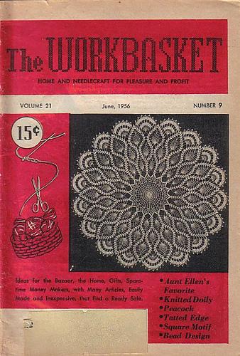 Ravelry Workbasket Magazine Vol 21 No 9 June 1956