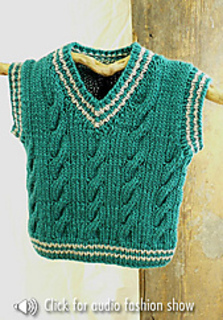 6d0fc65a2 Ravelry  Keene Toddler Vest pattern by Marilyn Losee