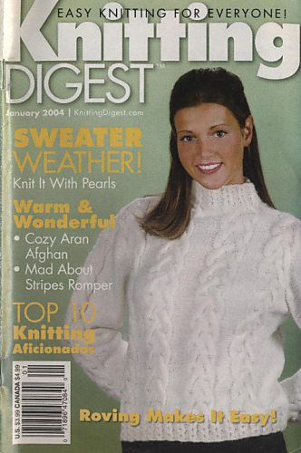 Ravelry: Knitting Digest Magazine, Vol. 26 No. 1, January 2004 - patterns