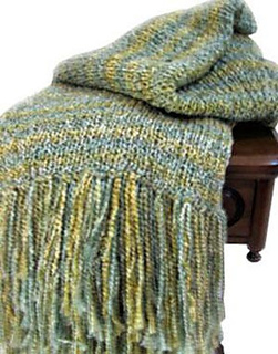 Ravelry Cozy Loom Knit Afghan Pattern By Authentic