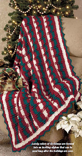 Ravelry Christmas Textures Afghan Pattern By Katherine Eng