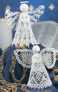 Ravelry Praying Angel Ornaments Pattern By Constance Thomas