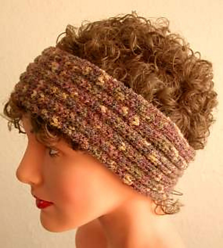 Ravelry Meringue Headband Ear Warmer Pattern By Crystal Palace Yarns