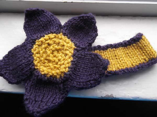 Ravelry Toddler Flower Headband Pattern By Jaimee E
