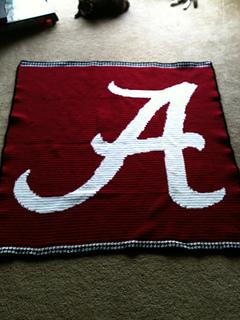 Ravelry Alabama Crimson Tide A Small Pattern By