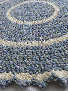 Ravelry Circles Baby Blanket Pattern By Mo King Low