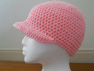 Ravelry Hat With Brim Pattern By Teresa Richardson