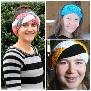 Ravelry  Braided Earwarmer Headband pattern by Lisa Jelle 595afc5064a