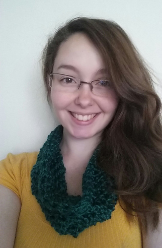 Ravelry: Fluffy Clouds Finger-Crochet Cowl (with Hook option ...