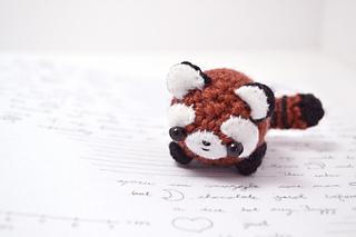 Ravelry: red panda amigurumi pattern by mohu