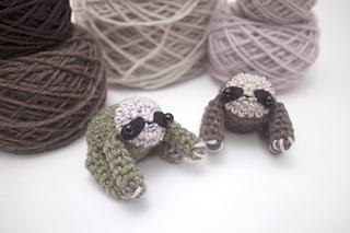 Amigurumi Octopus Mohu : Ravelry: little sloth amigurumi pattern by mohu