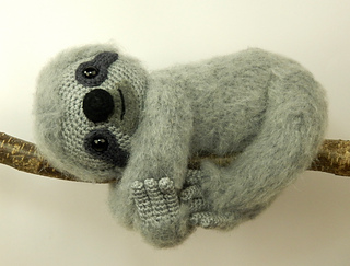 Free Amigurumi Sloth Pattern : Ravelry slocombe the sloth pattern by moji moji design