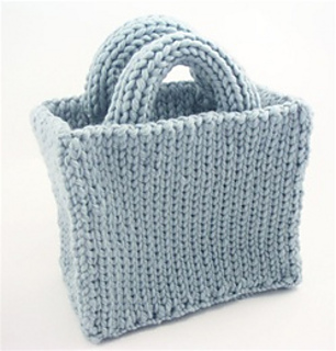 Ravelry: Basic Tote Bag pattern by Authentic Knitting Board
