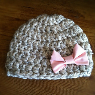 Ravelry Chunky Newborn Hat Pattern By Jess Cadena