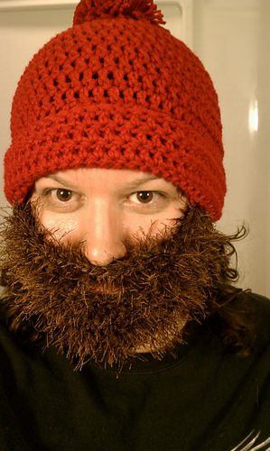 Ravelry Bearded Beanie Pattern By Jen Spears