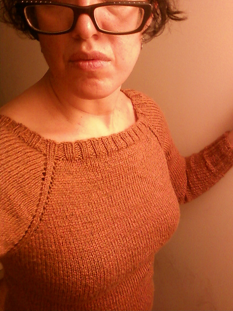 a180e4d79 Ravelry  Top Down Raglan Sweater Generator pattern by Knitting Fool
