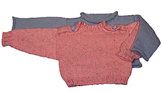 d18e9c4d4064 Ravelry  Easy Baby Pullover - No Seams! pattern by Diana Jordan