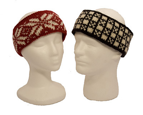 Ravelry: Easy Fair Isle Headbands pattern by Diana Jordan