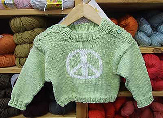 ab6e7ecee556 Ravelry  Easy Baby Pullover - Straight Needle Version pattern by ...
