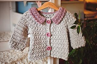 4d64bb196 Ravelry  Meringue Cardigan pattern by Mon Petit Violon