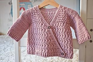 432c118aa Ravelry  Wrap Jacket pattern by Mon Petit Violon