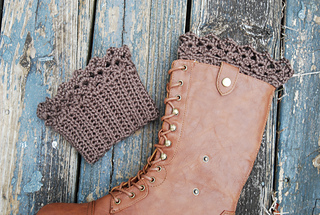 Ravelry Lace Boot Cuff Pattern By Kitty Adventures