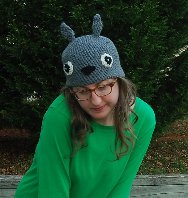 Ravelry Totoro Hat Pattern By Kitty Adventures