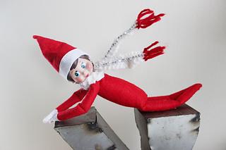 Ravelry Flying Scarf Elf On The Shelf Pattern By Kristen