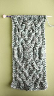825bbc01a78acc patterns   Kristen McDonnell s Ravelry Store.   Fancy Celtic Cable Scarf