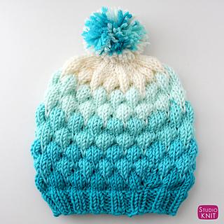 234710637 Bubble Beanie Hat pattern by Kristen McDonnell