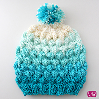 7b32e4dfc9 Ravelry  Bubble Beanie Hat pattern by Kristen McDonnell