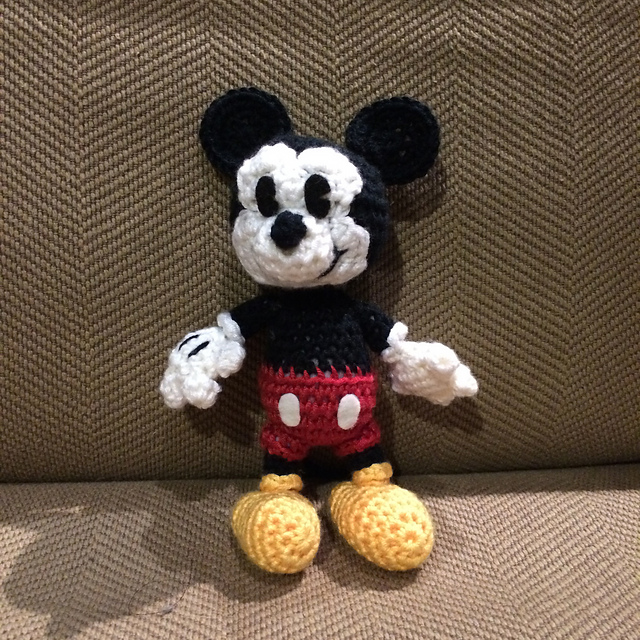 Ravelry Classic Mickey Mouse Pattern By Megan Kreiner