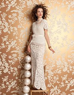 Ravelry 01 Wedding Dress Pattern By Nicky Epstein